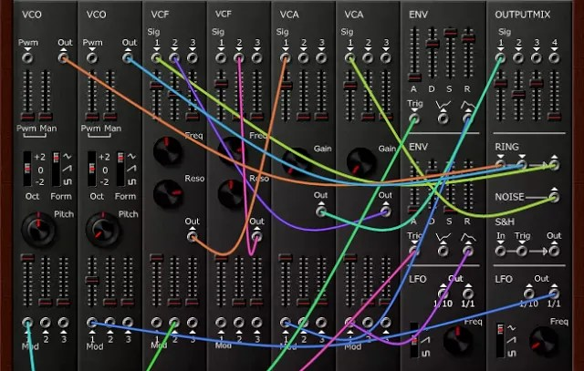 WebModular (Modular synth, online) • Audio Plugins for Free