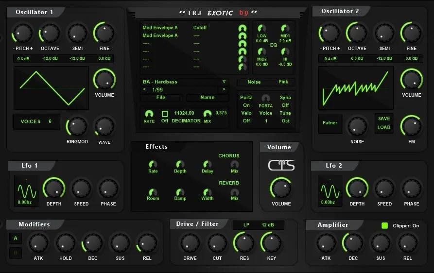 Exotic | Audio Plugins for Free