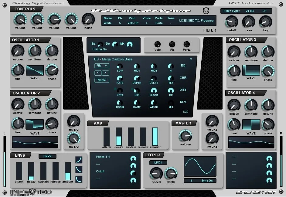Splash | Audio Plugins for Free