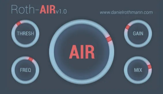 Roth-AIR | Audio Plugins for Free