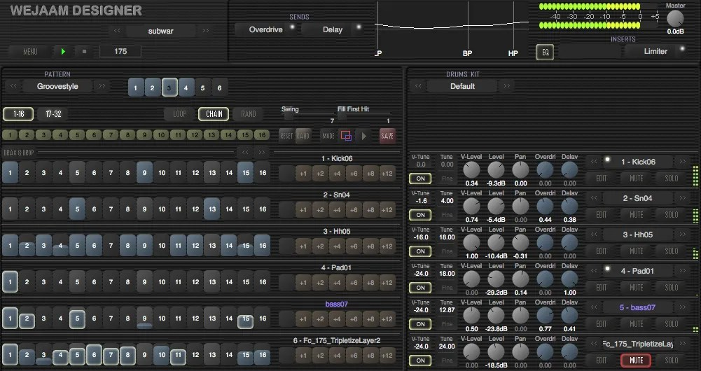 Wejaam Designer | Audio Plugins for Free