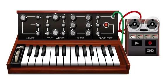 Google moog doodle   Audio Plugins for Free