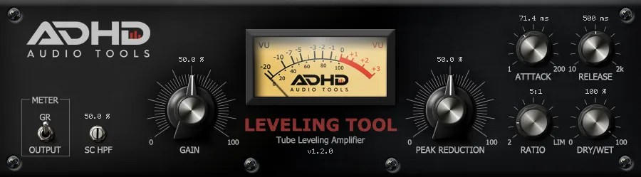 Leveling Tool | Audio Plugins for Free