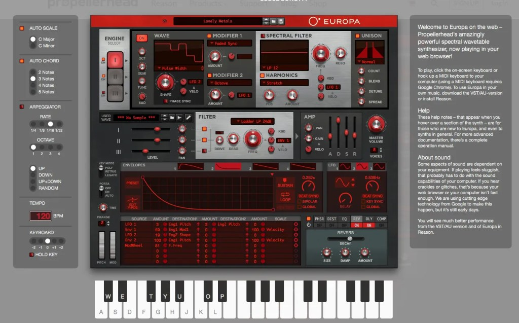 Europa | Audio Plugins for Free