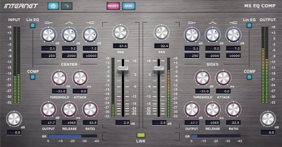 MS EQ COMP | Audio Plugins for Free