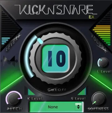 Kick-n-Snare EX | Audio Plugins for Free
