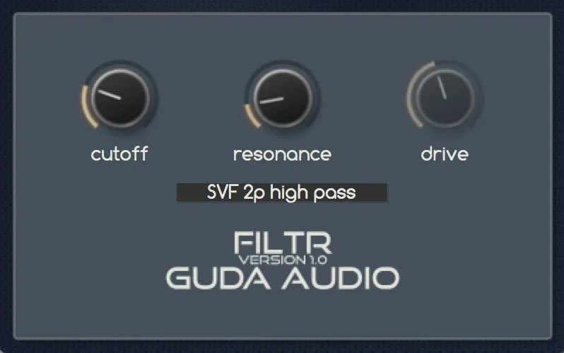 FiltR | Audio Plugins for Free