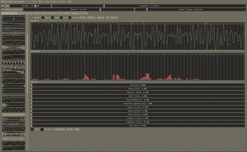 Waveedit (Synth Wavetable, Tool, Wavetable editor) • Audio Plugins