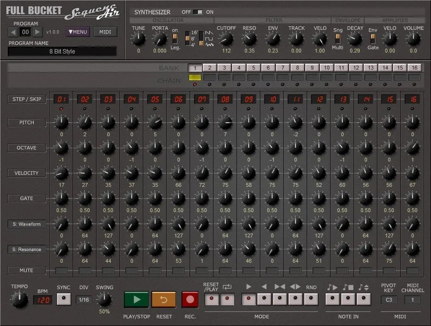 SequencAir | Audio Plugins for Free