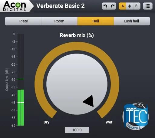 Verberate Basic | Audio Plugins for Free