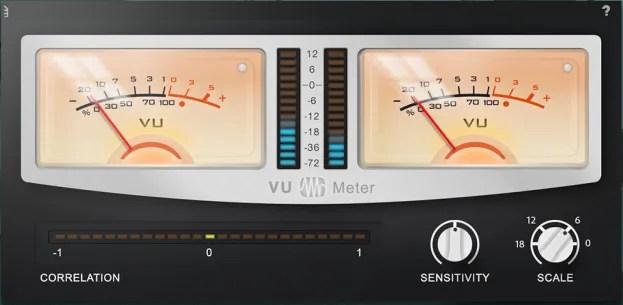 Presonus VU Meter | Audio Plugins for Free