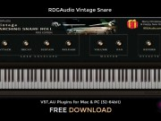 VINTAGE SNARE ROLL | Audio Plugins for Free