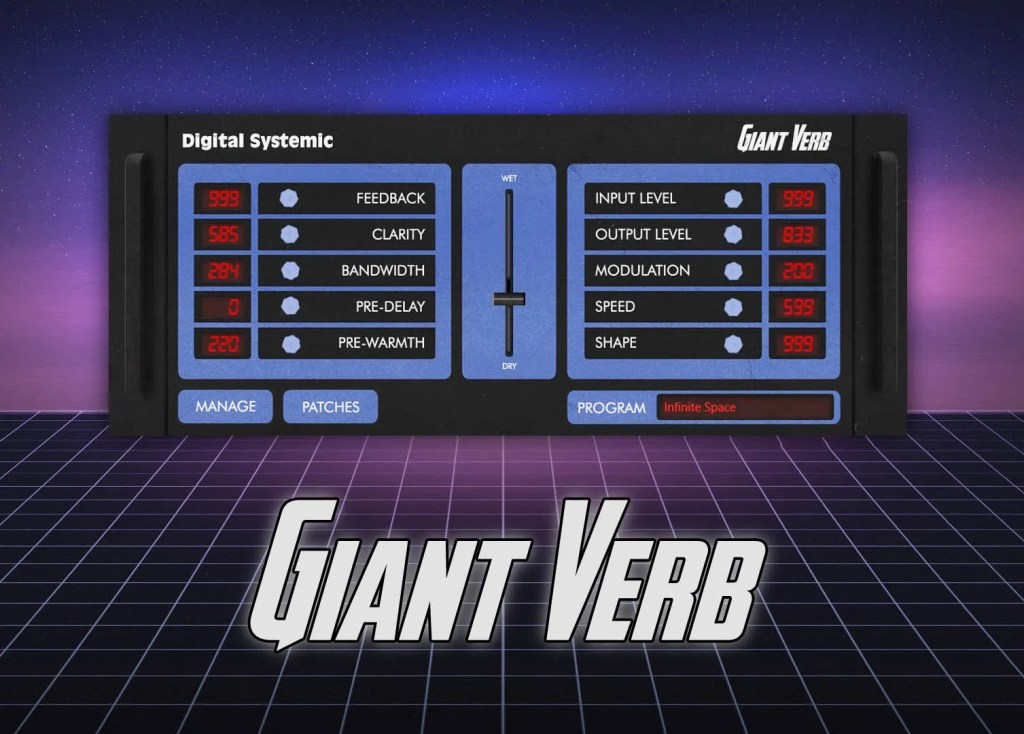 Giant Verb | Audio Plugins for Free