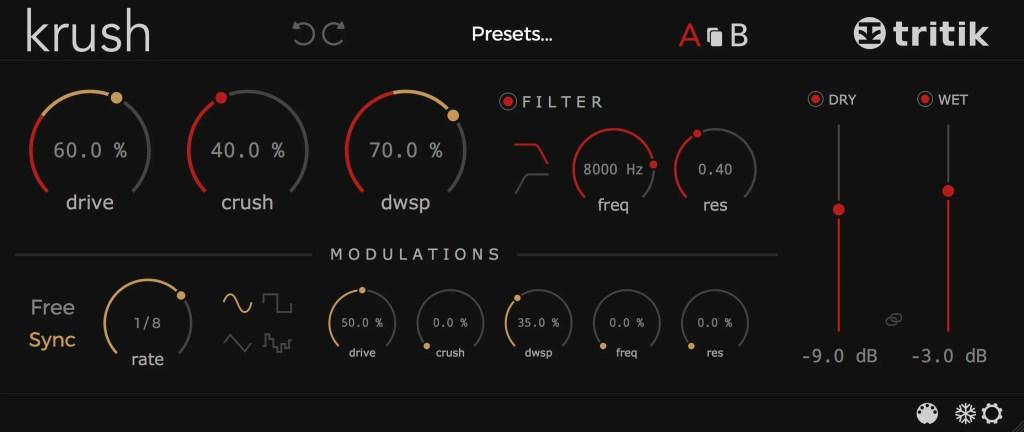 Krush | Audio plugins for free