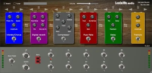 Live Pedalboard | Audio plugins for free