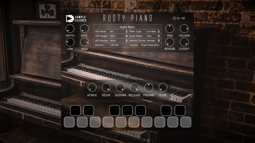 Rusty Piano | Audio plugins for free