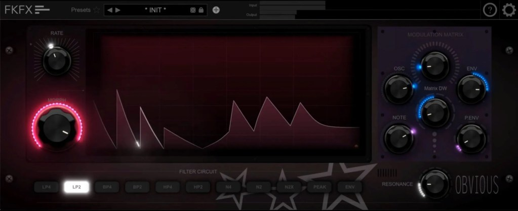 FKFX Obvious Filter | Audio plugins for free