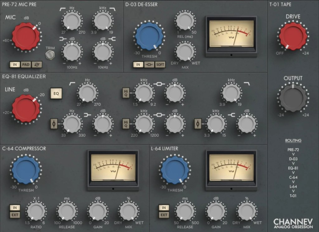 CHANNEV   Audio plugins for free