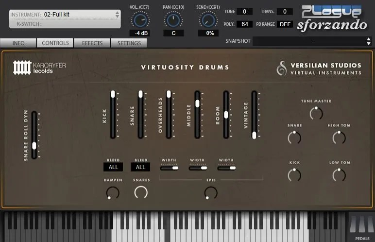 Virtuosity Drums | Audio Plugins for Free