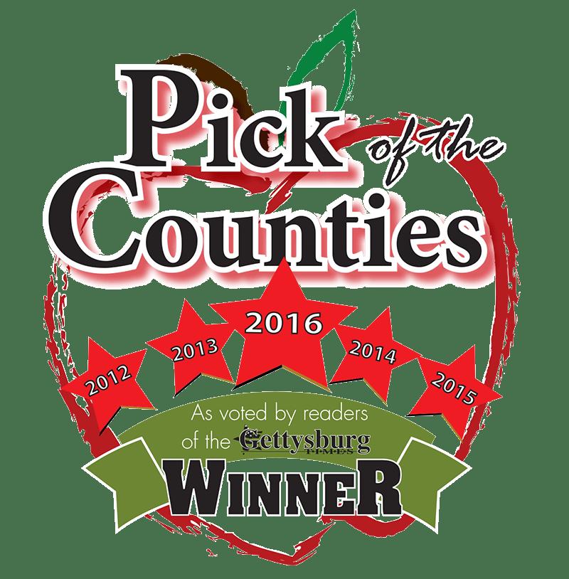 Pick Counties Award Seal 2016