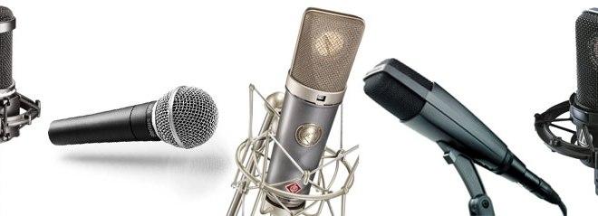 Explore ao máximo seus microfones 12