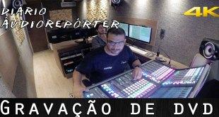 Gravação de DVD - Diário Áudio Repórter 1