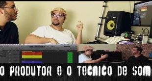 O Produtor, arranjador e o Técnico de som | ÁudioRepórter News #7 3