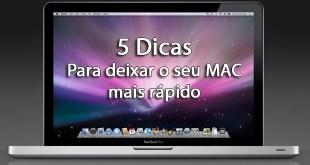 5 Dicas para deixar o seu MAC mais rápido 8