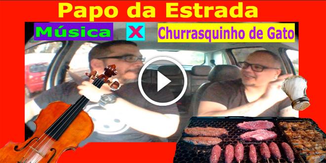 Música x Churrasquinho de Gato com Diego Moreno parte 2 | Papo da Estrada #4 2