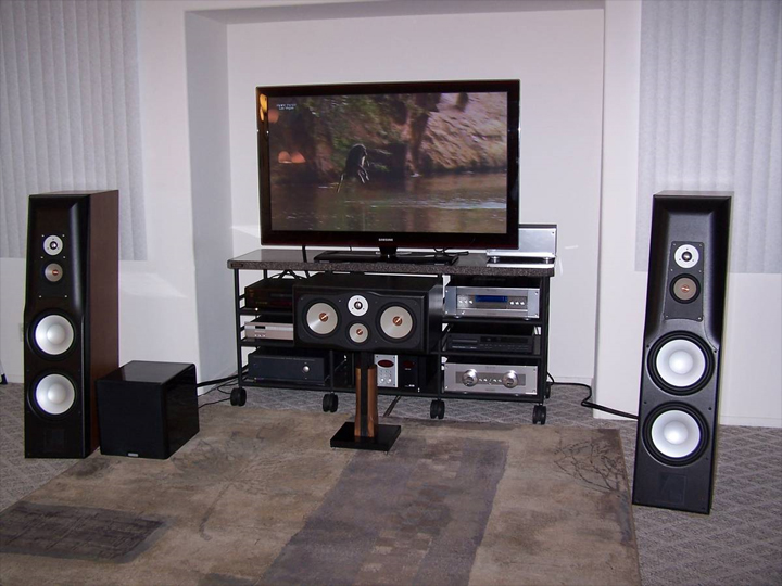 Audio Rack Systems Home