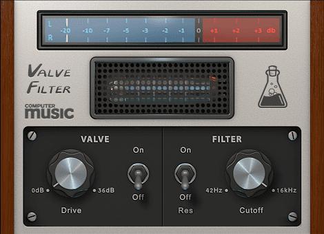 AudioThing Valve Filter CM Freeware GUI