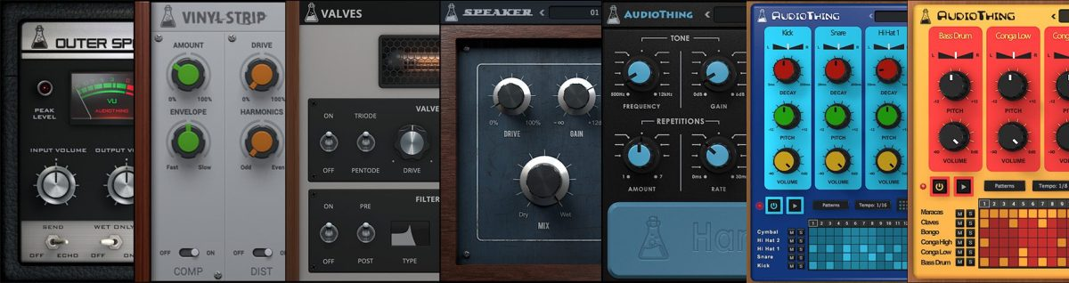 AudioThing Vintage Bundle (VST, AU, AAX Plugins)