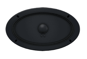 Oval Speaker Model Effect - Speakers