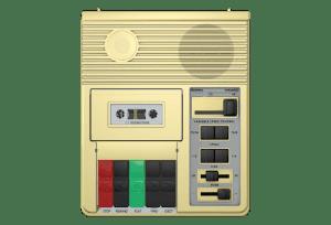 library of congress c1 cassette player impulse response