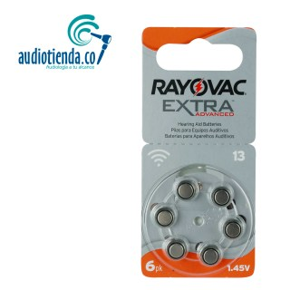Pilas para audifonos rayovac 13