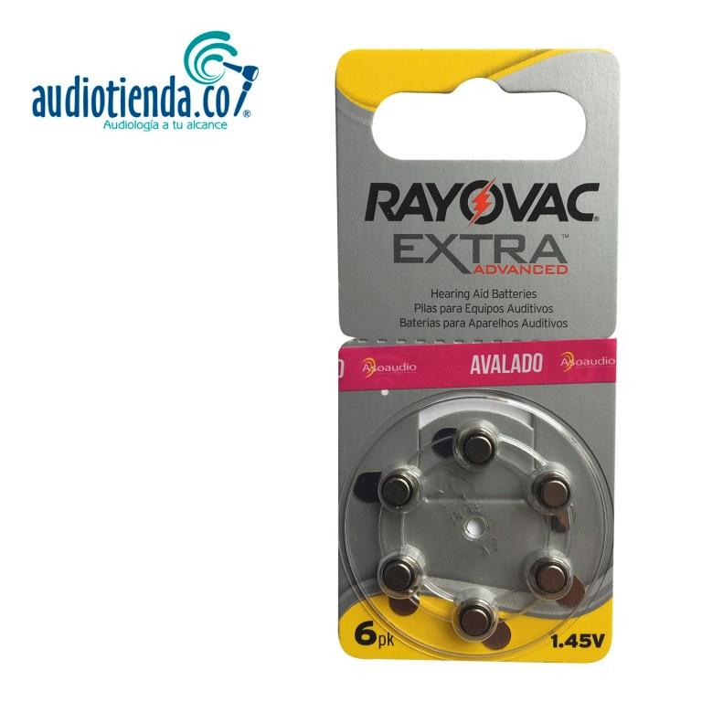 Pilas para audifonos rayovac 10