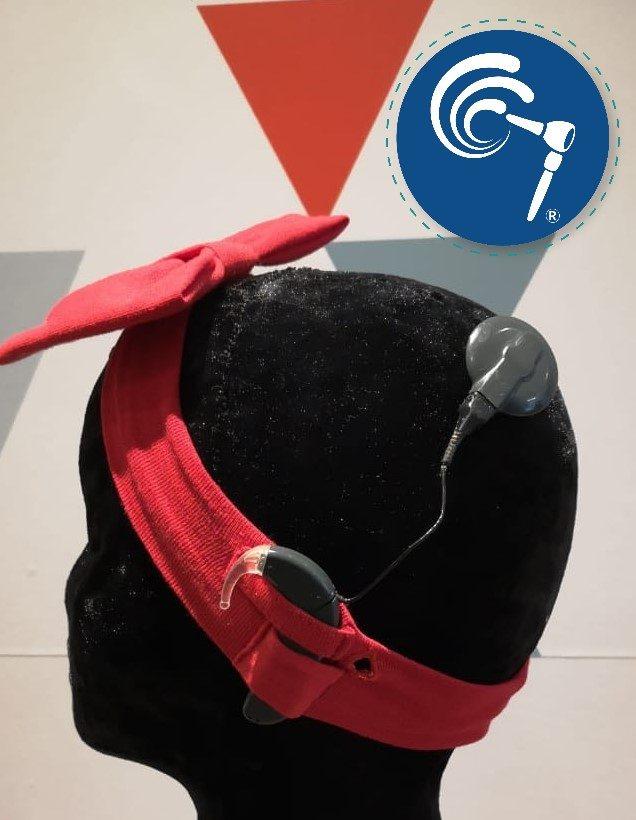 Balaca para implante coclear