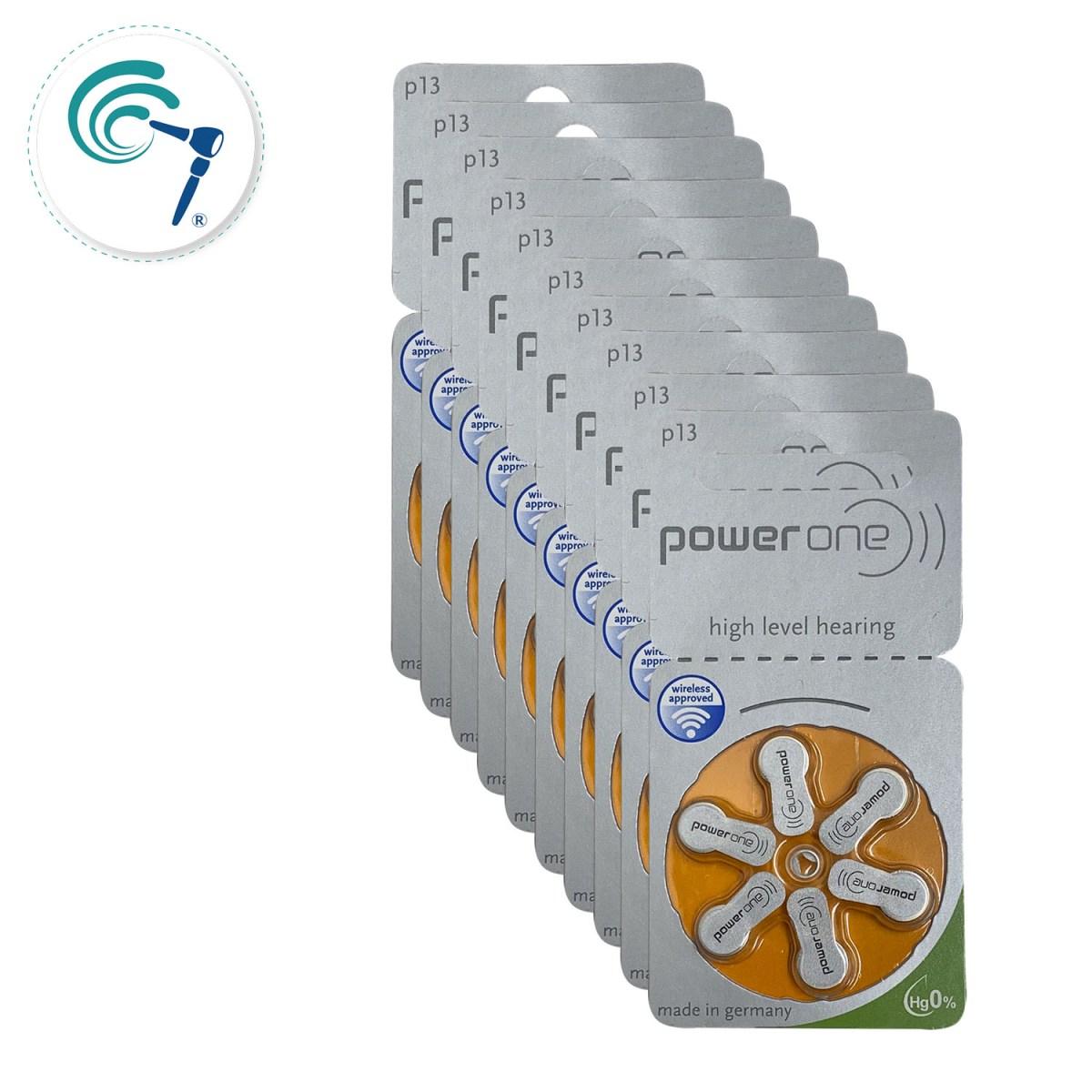 Pilas para implante coclear PowerOne