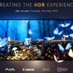 """SGO, Canon, AJA y la Universidad Pompeu Fabra de Barcelona organizan el encuentro profesional """"Creating the HDR Experience"""""""
