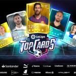 Disponible en España 'LaLiga Top Cards', el primer videojuego de cartas de LaLiga Santander