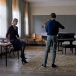Ina Weisse, Oren Gerner, Denis Côté, Martín Rejtman y Anna Sofie Hartmann, en los encuentros de la XVIII edición de Nest Film Students