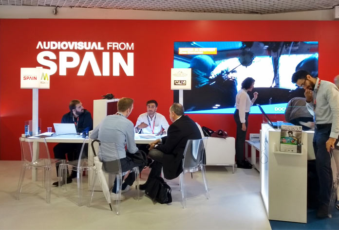 Audiovisual from Spain en MIPCOM 2019