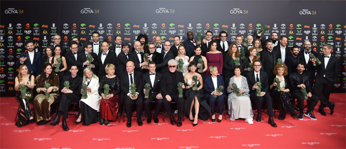34º Premios Goya