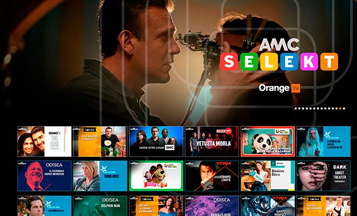 AMC Selekt en Orange TV
