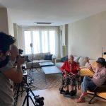 El actor Miguel Ángel Muñoz debuta en la dirección con el documental '100 días con la Tata', que se rueda estos días