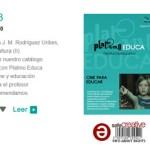 Se publica el tercer número del Boletín de Platino Educa