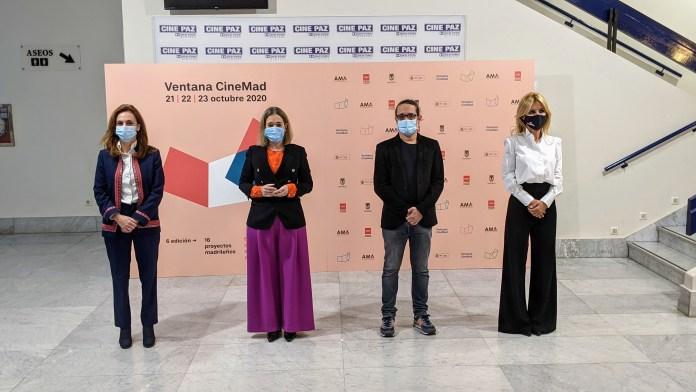 Beatriz Navas, Mareta Rivera, Mario Madueño y Cayetana Guillén Cuervo