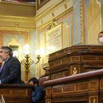 José Manuel Rodríguez Uribes explica en el Congreso las nuevas medidas de apoyo a los trabajadores de la cultura