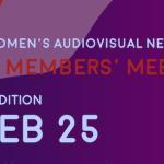 La asociación europea de mujeres cineastas Ewa Network celebra su evento anual el 25 de febrero, por primera vez online