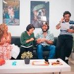 Televisión de Galicia graba su nuevo formato de humor, 'Catre gatos'